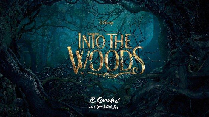 Into de woods.